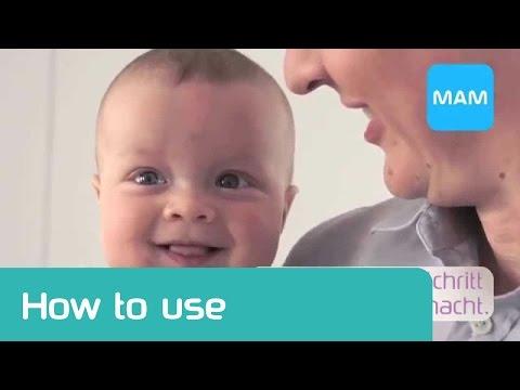 Manuelle Milchpumpe von MAM: einfach zu bedienen und individuell einstellbar