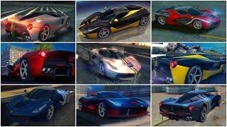 Asphalt 8, Ferrari LaFerrari MAX PRO, Mastery 15-11