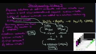 Stoichiometry Video 3