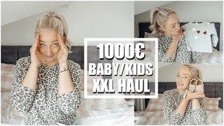 1000€ XXL Fashion Haul für 3 Kinder I Baby und Kind I Herbst/Winter