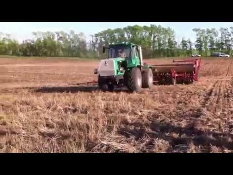 Прямой посев ячменя по нулевой технологии