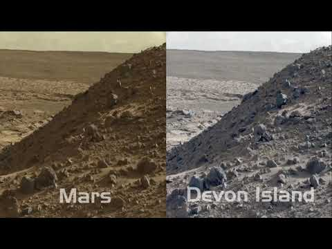 NASA - Mars VS Devon Island