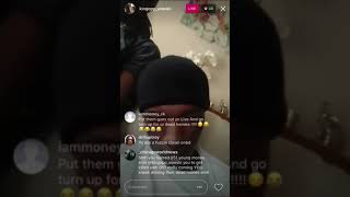 Fbg wooski ig live king von admits to killing BossTrell with t Roy and JMoney In the comments