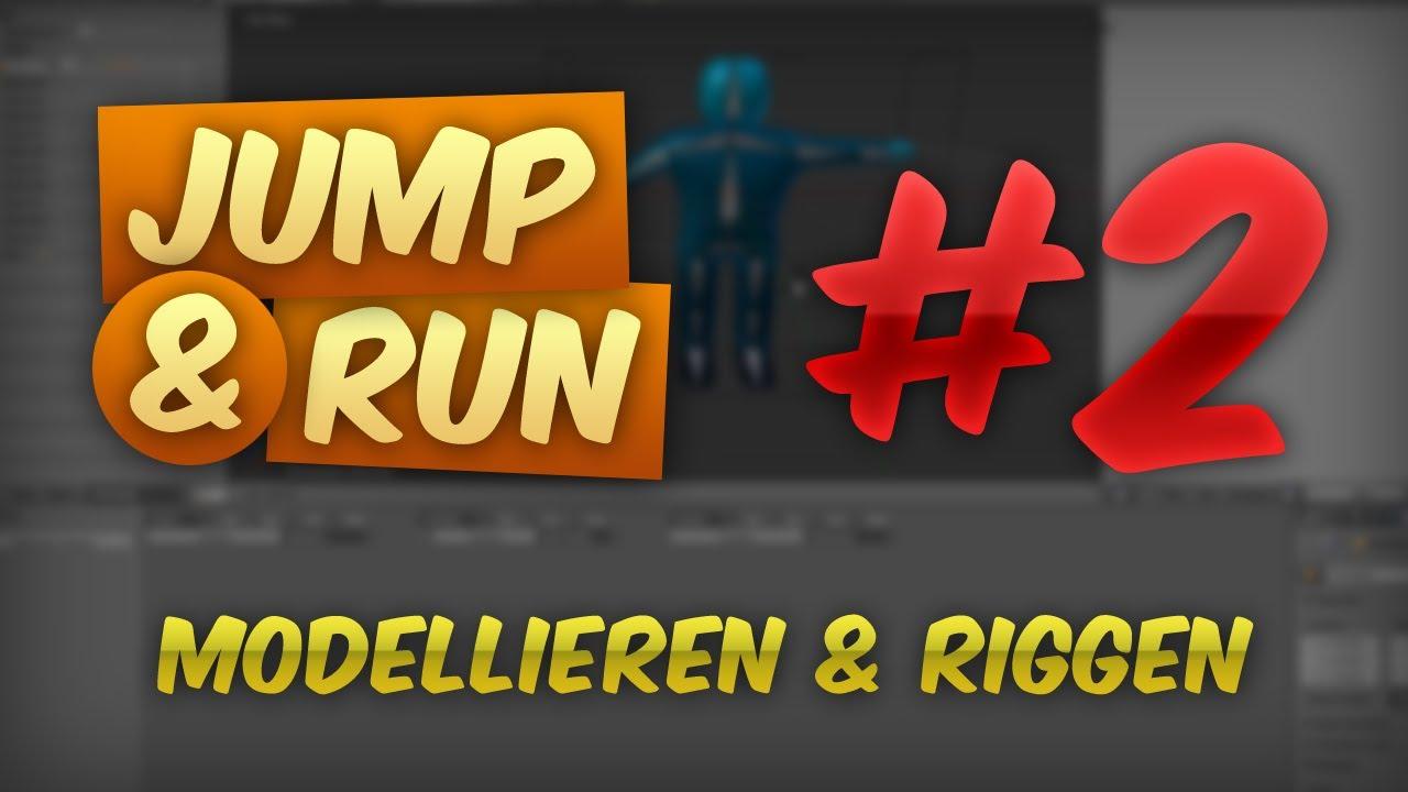 JUMP & RUN #2 - Figur Modellieren & Riggen | Tutorial Blender Game Engine [DEUTSCH] [HD]