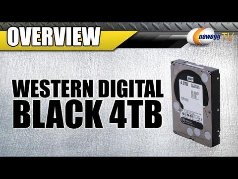 Newegg TV: Western Digital WD Black 4TB 7200 RPM 3.5″ Internal Hard Drive Overview & Benchmarks