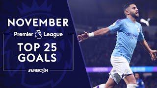 Top 25 Premier League goals from November 2019   NBC Sports