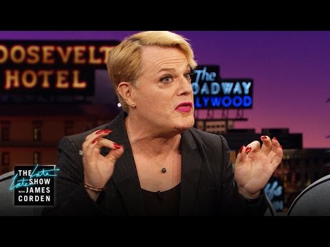 Eddie Izzard Bridges the World Through Human Sacrifice