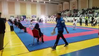 Hamza Hani- Kata Jojo Shihi Sho- 1st Challenge Championship Karate Dubai 09/02/2018.
