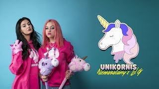 NEMAZALÁNY X LIL G - UNIKORNIS 🦄 (Official Music Video)