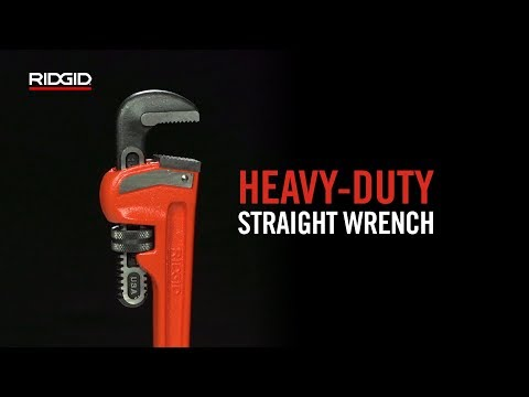 RIDGID Heavy-Duty Straight Wrench
