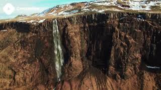 ???? Stock Footage Iceland Waterfall | DJI Phantom 3 Pro 4K Royalty free stock video footage