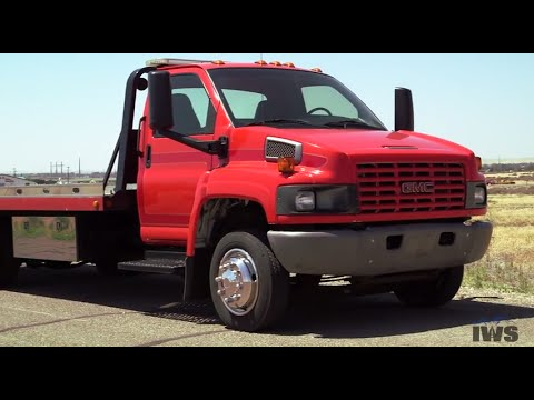 2003 GMC C5500 Top Kick With 21 Ft. Vulcan 10-Series Steel Car Carrier From IWS Mp3
