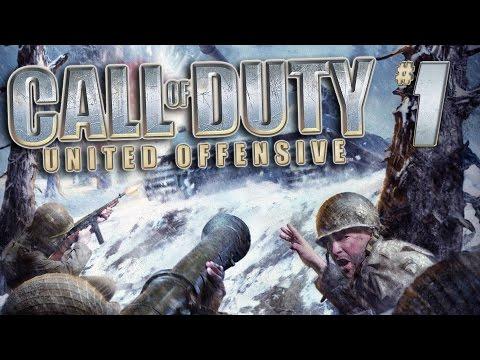 Call of Duty: United Offensive (прохождение) - Американская кампания #1