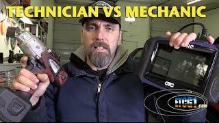 Technician vs Mechanic -ETCG1