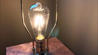 LED Vintage Filament style Edison Light Bulbs (4w ST64 Warm Colour 2400K) by Gordon & Bond review