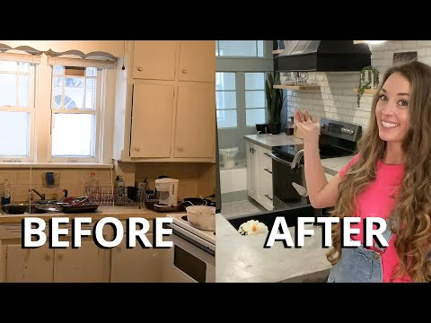 Affordable DIY Kitchen Renovation (Before & After)