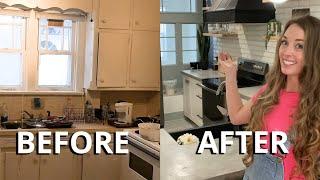 Affordable DIY Kitchen Renovation (Before & After)