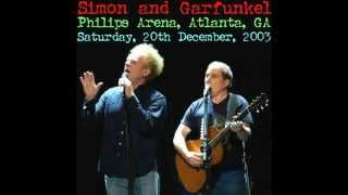 I Am A Rock -- Simon and Garfunkel Philips Arena Live 2003