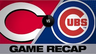 Schwarber Powers Cubs To 8 2 Win Vs. Reds | Reds Cubs Game Highlights 91619