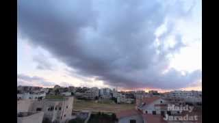 preview picture of video 'Irbid Cloudy Evening Time-lapse'