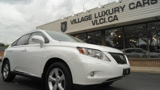 preview picture of video '2010 Lexus RX350 in review - Village Luxury Cars Toronto'