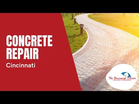 Concrete Repair Ad | The Basement Doctor of Cincinnati