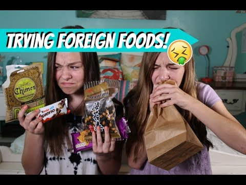 Trying Foods From Around The World!