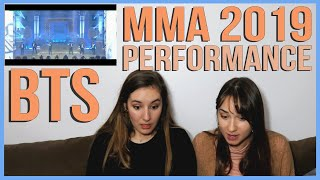 BTS -  MMA 2019 FULL PERFORMANCE REACTION