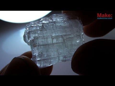 übersättigung bei kristallen