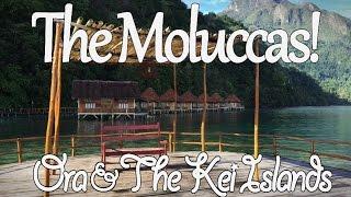 Kei island and Ora beach in Maluku Video