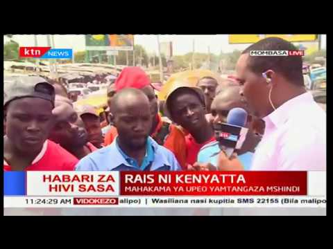 Mombasa residents express disappointment over the Supreme Court verdict