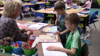 Peoria Unified Small Group Intervention Literacy Centers Station Rotation Blended Learning