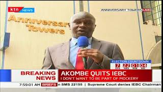 IEBC Chairman Wafula Chebukati is expected to make major announcement
