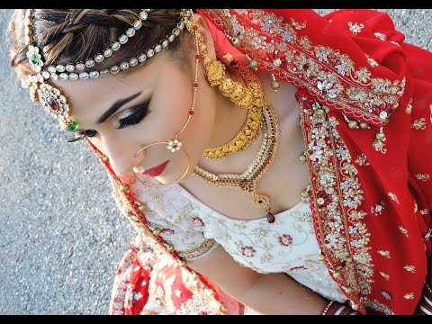 Video Asian/ Pakistani/Indian Bridal Glam Makeup Tutorial