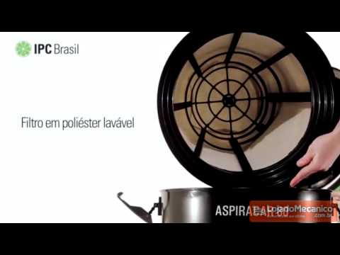 Aspirador de Sólidos e Líquidos 80 Litros 1400W  - Aspiracar 80 - Video