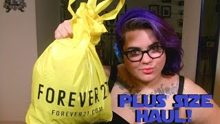 Plus Size Clothing Haul! Forever 21+ And Hot Topic!