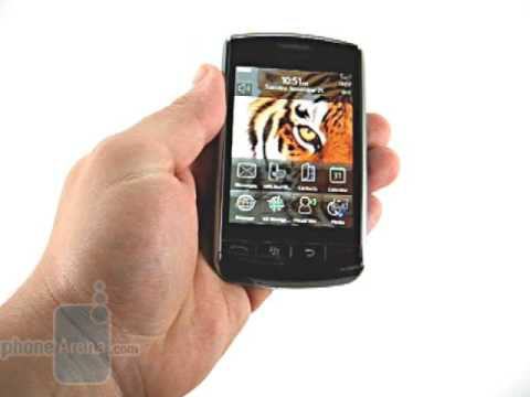 RIM BlackBerry Storm Review