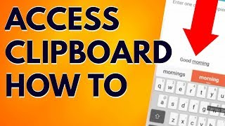 Android How To Access Clipboard [SOLVED] #18