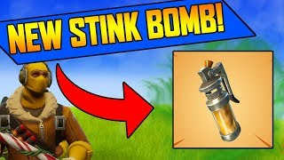 *NEW* STINK BOMB GRENADE in FORTNITE UPDATE!!!