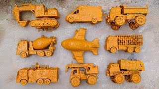 Clean Dirt-Stained Toy Cars | Kid Studio