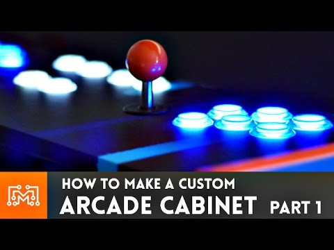 Arcade Cabinet build - Part 1 // How-To
