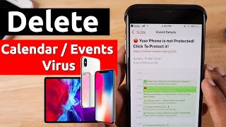 Delete Calendar Virus Events on iPhone and iPad