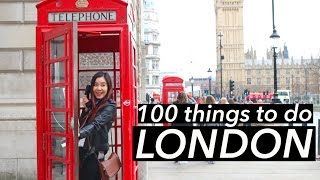 100 Things To Do in London 🇬🇧