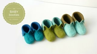 Felt Baby Shoes - Introduction