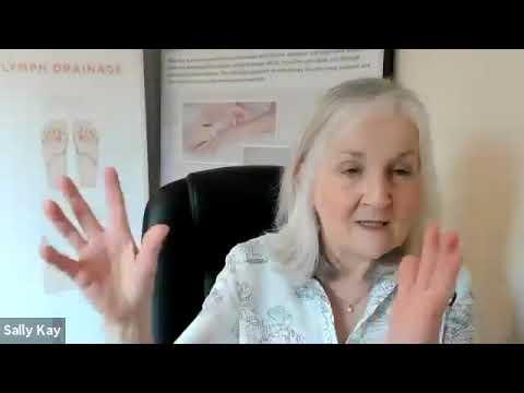 Reflexology Lymph Drainage webinar with Sally Kay