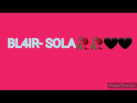 Download BL4IR - SOLA🥀🖤🥀🖤(AUDIO+TESTO) Mp4 HD Video and MP3