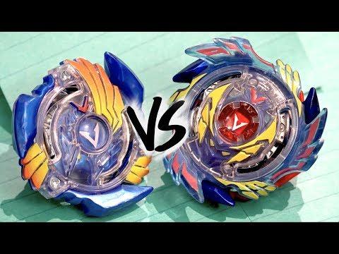 BATTLE: Valtryek V2 .B.V VS Genesis Valtryek V3 .6V.Rb - Beyblade Burst Evolution!