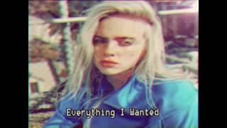 Mashup Billie Eilish Everything I Wanted From 1980s Audio