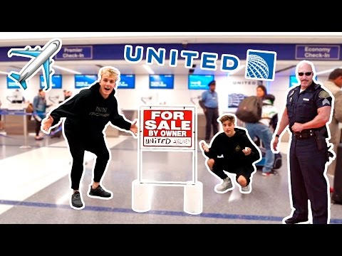 I PUT UNITED AIRLINES UP FOR SALE **PRANK** (COP CHASE) Mp3