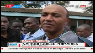 Peter Kenneth claims some stations write down missing names and allow voting